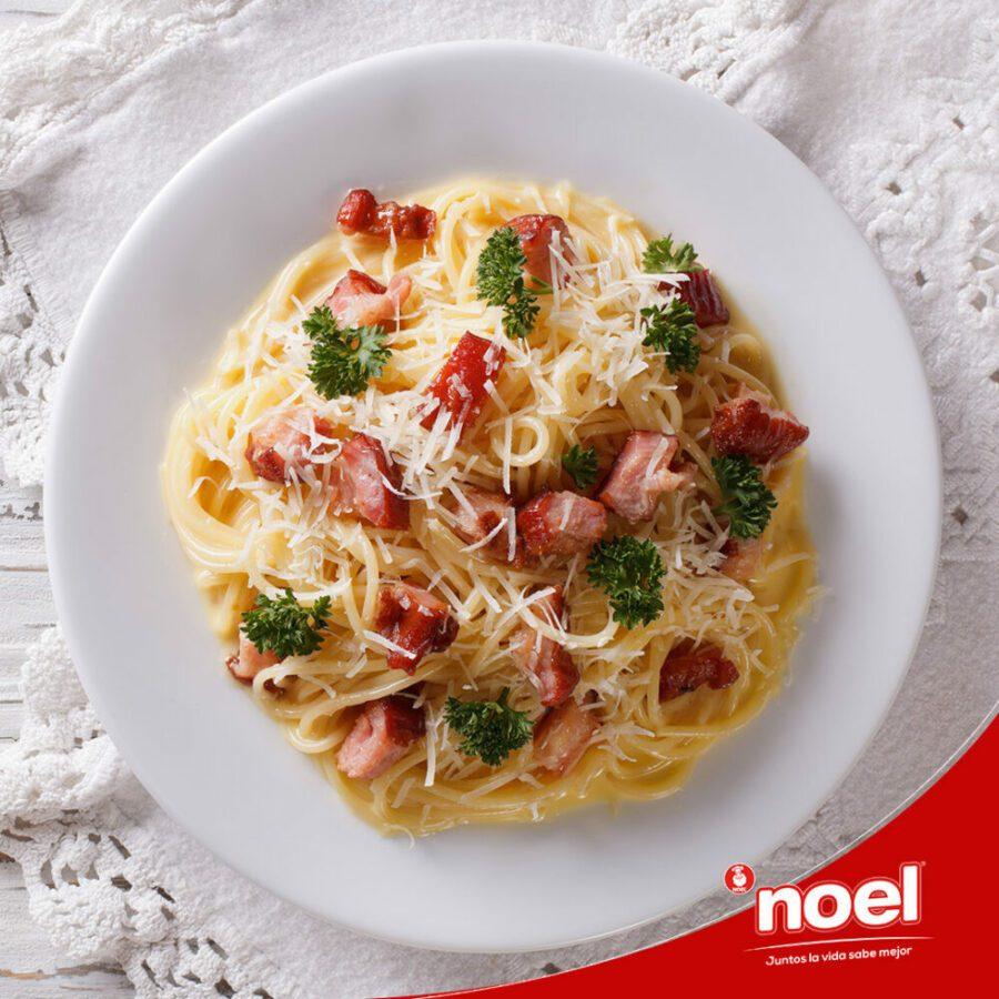 Recetas Cenas Especiales Noel - Pasta Carbonara