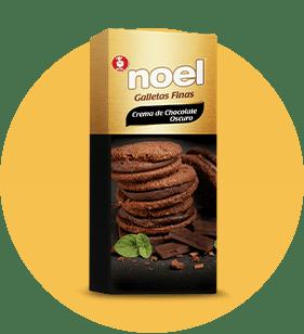 Galletas Finas Crema de Chocolate